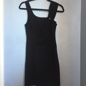 Guess Black Fitted Dress
